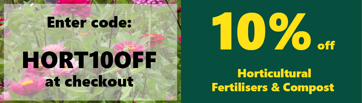 10 off horticultural fertilisers