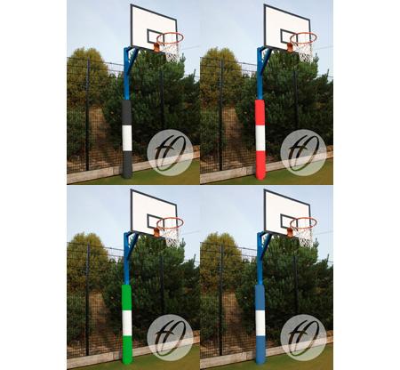 Basketball post protector