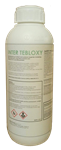 Picture of white bottle with white label and Inter Tebloxy in green writing