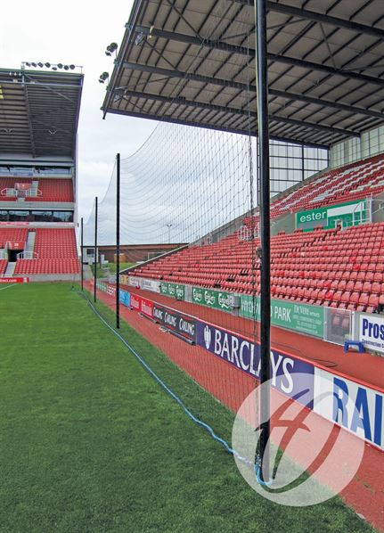 Crowd Protection Ball Stop System - 40m x 5m