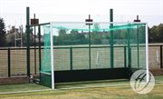 Fence Folding Hockey Goals