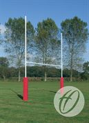 Hinged No.3 Steel Rugby Posts