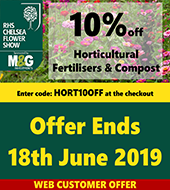 10% off Horticultural Fertilisers SM and Latest Offers