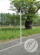 Socketed International Netball Posts